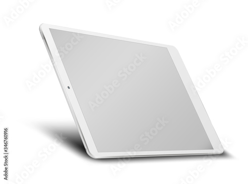 Tablet pc computer with blank screen. #346760916