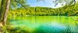 Frühlingstag am Gemündener Maar bei Daun in der Eifel