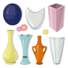 Vase Set. Various Forms Of Vas...