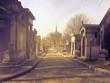 Leinwandbild Motiv View Of New Orleans Cemetary