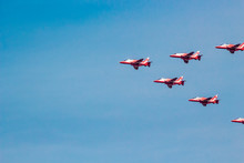 The Red Arrows Royal Air Force...