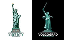 USA, Poster Statue Of Liberty....
