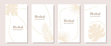 Gold Colored Template For Soci...