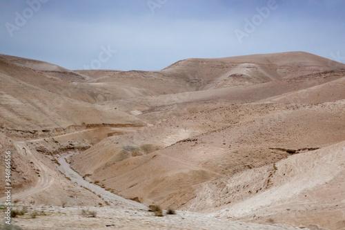 Desert from Arad Israel overlook Tableau sur Toile