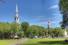 View Of Downtown New Haven, Connecticut, United States