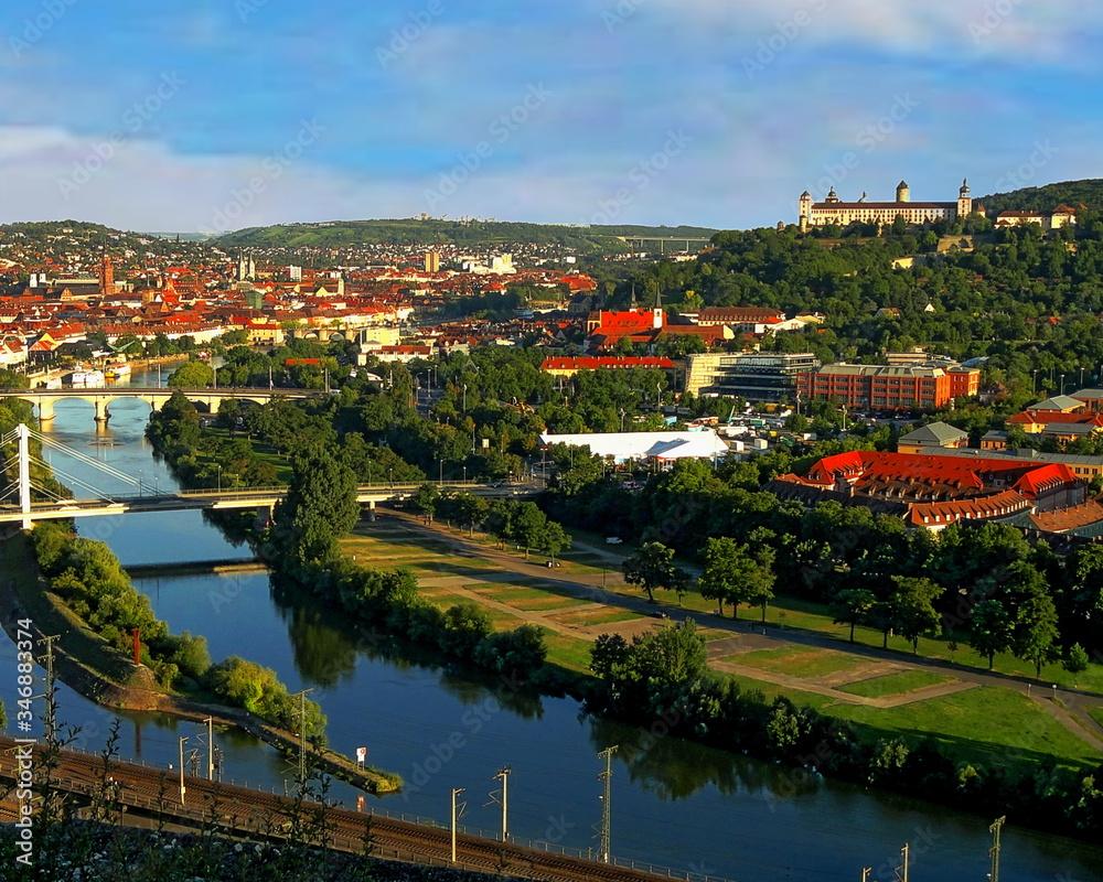 Fototapeta Scenic View Of River By Trees Against Sky - obraz na płótnie