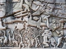 カンボジア 遺跡 古...
