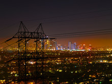 Downtown LA Night