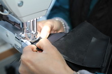 Sew The Components Of A Leathe...