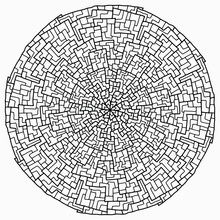 Mandala With Abstract Geometri...