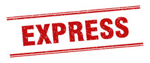 Express Stamp. Express Label. ...