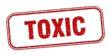 Toxic Stamp. Toxic Square Grun...