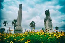 Old Galveston Texas Cemetery W...