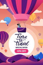 Time To Travel Banner, Poster ...