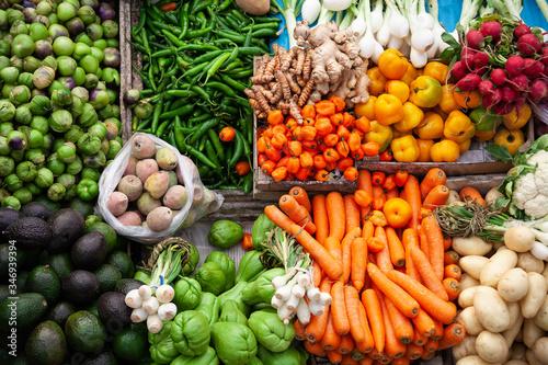 diferentes tipos de vegetales originarios de mexico