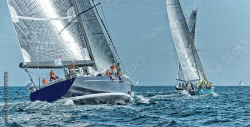 Obrazy Regaty   sailing-yacht-regatta-yachting-sailing