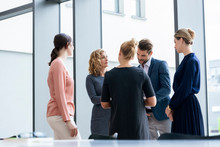 Team Of Business People Discus...