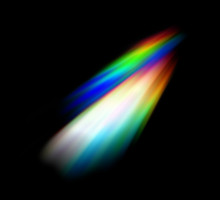 Abstract Colorful Rainbow Ligh...