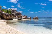 Seychelles, La Digue Island, Anse Source DArgent Beach