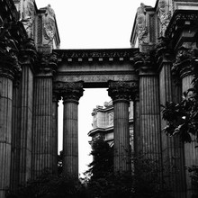 Palace Of Fine Arts Against Cl...