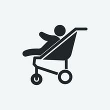 Baby Carriage Vector Illustrat...