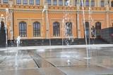Fototapeta Fototapeta Londyn - Wrocław. Dworzec główny