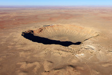 Meteor Crater Aerial Photo