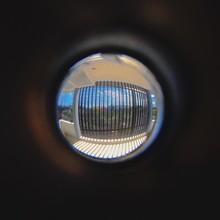 Close-up Of A Peep Hole