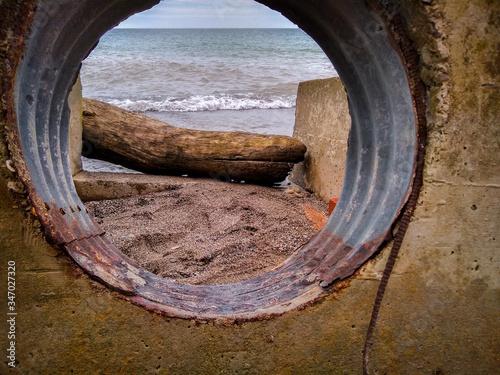 Fotografija culvert beach view