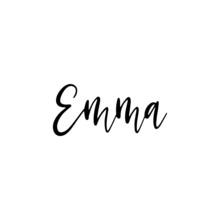 Emma - Hand Drawn Calligraphy ...