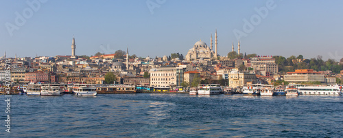 Cuadros en Lienzo Istanbul, Turkey - home of many Istanbul landmarks, like Hagia Sofia, the Topkapi Palace, the Blue Mosque, the Fatih district is the core of the city