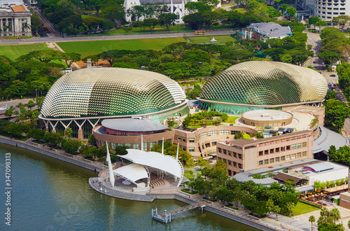 Esplanade and Theatres on the Bay Singapore