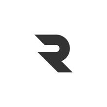 R Letter Logo Design Vector Il...