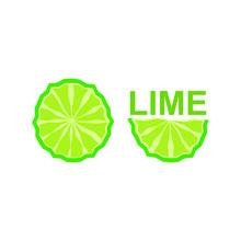 Lime Lemon Citrus Fruit Logo I...