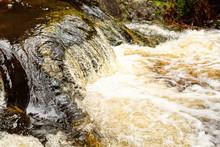 Cascade River Cascading Over Rocks