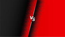Red And Black Halftone Versus ...