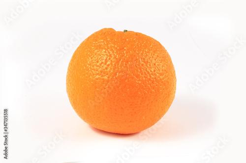 Orange fruit on white background Canvas-taulu