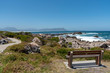 canvas print picture - Kleinmond, Western Cape, South Africa. 2019,  The seafront at Kleinmond a small town on the Alantic coast on the garden route in the Western Cape region of South Africa
