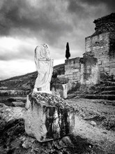 Headless Statue At Old Ruins