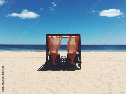 Photo Gazebo On Shore