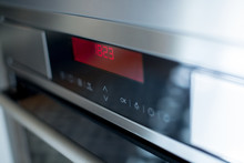 Oven Control Panel In The Kitc...