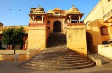 Entrance Of Amer Fort