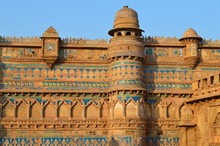 Gwalior Fort Against Clear Sky