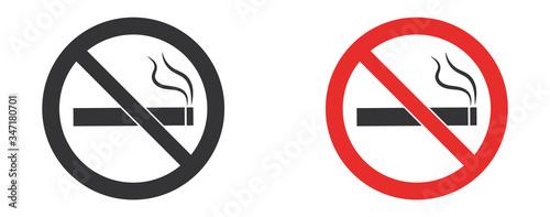 Photo No smoking sign