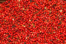 Mixed Peppercorns Background. ...