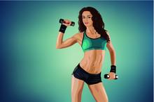 Girl, Beauty, Fitness, Story, ...