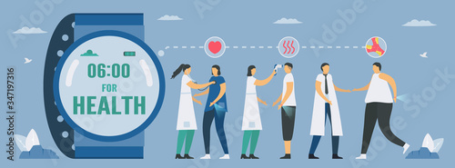 Smartwatch for health Tablou Canvas