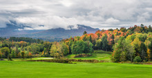 Autumn In Stowe Vermont Area