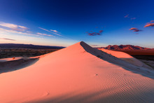 Kelso Dune At Sunet