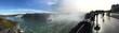 Leinwandbild Motiv Panoramic Shot Of Niagara Falls Against Sky